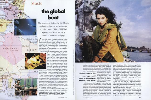 Article Preview: The Global Beat, May 1989 | Vogue