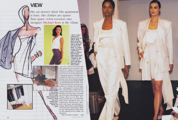 Article Preview: Michael Kors, June 1989 | Vogue