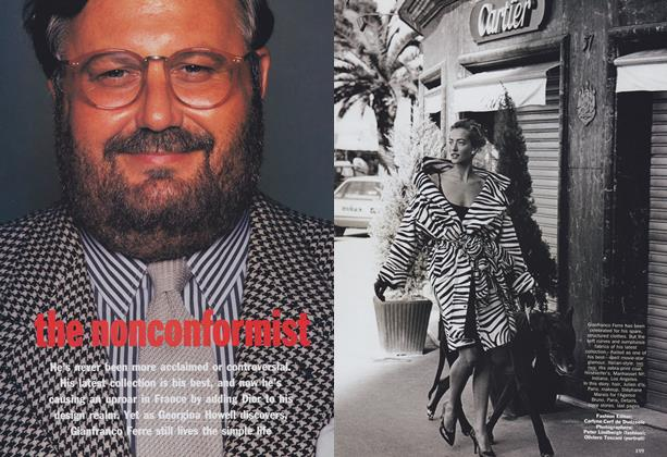 Article Preview: The Nonconformist, July 1989 | Vogue