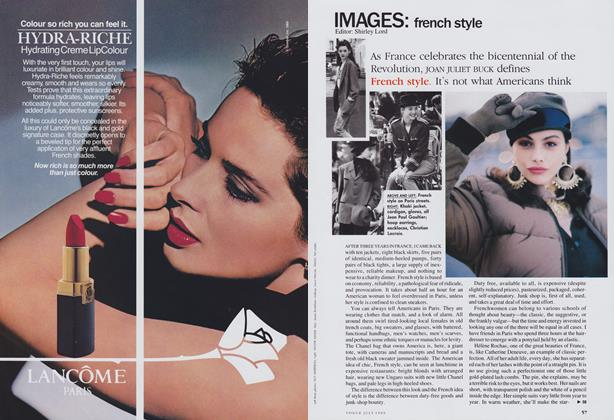 Article Preview: French Style, July 1989 | Vogue