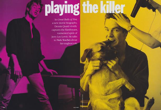 Article Preview: Playing the Killer, July 1989 | Vogue