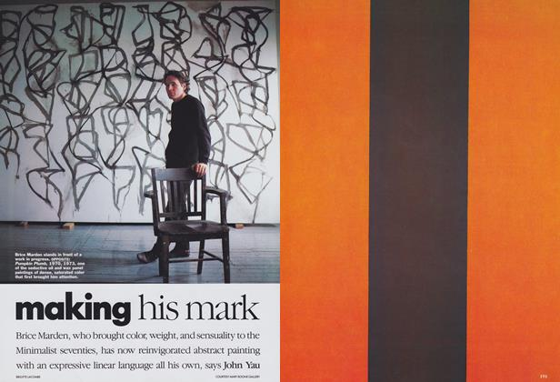 Article Preview: Making His Mark, July 1989 | Vogue