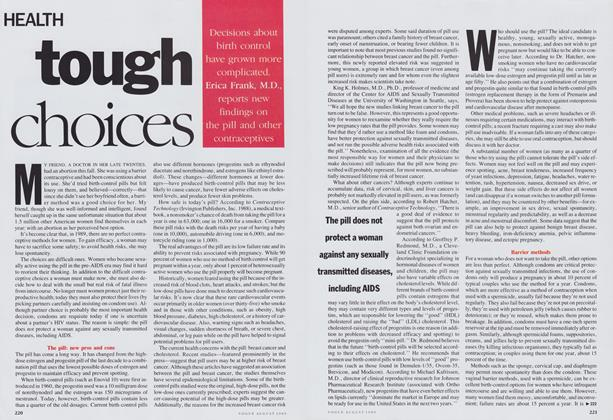 Article Preview: Tough Choices, August 1989 | Vogue