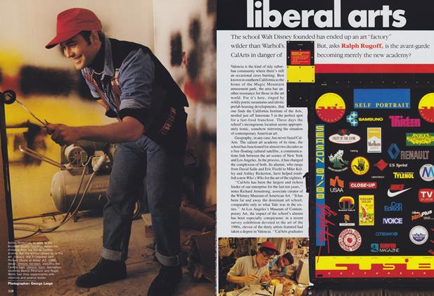 Article Preview: Liberal Arts, August 1989 | Vogue
