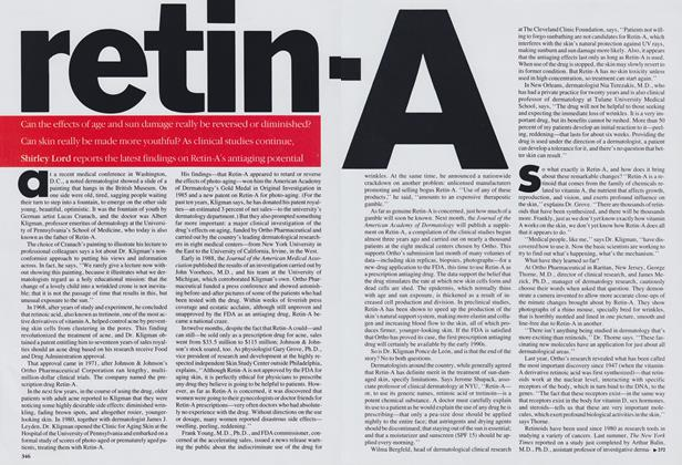 Article Preview: Retin-A, August 1989 | Vogue