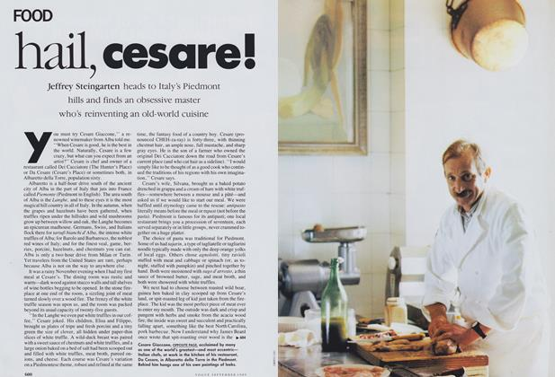 Article Preview: Hail, Cesare!, September 1989 | Vogue