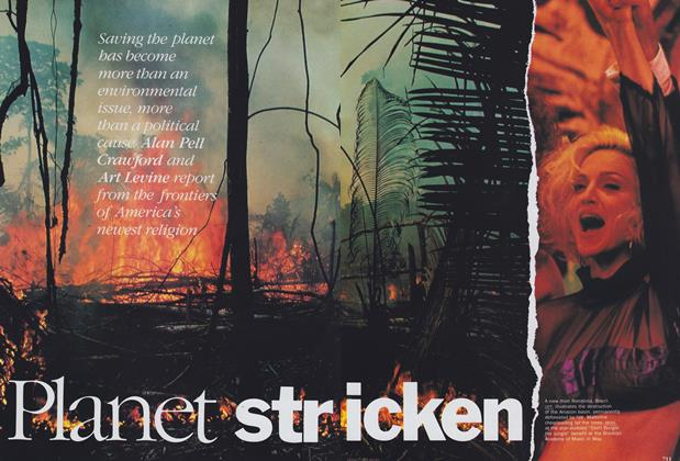 Article Preview: Planet Stricken, September 1989 | Vogue