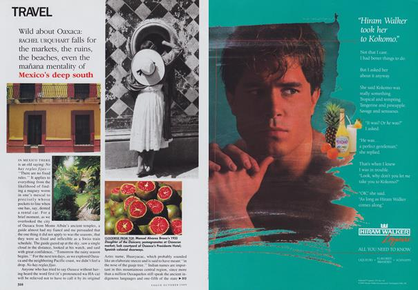Article Preview: Wild about Oaxaca, October 1989 | Vogue