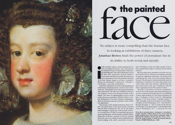 The Painted Face