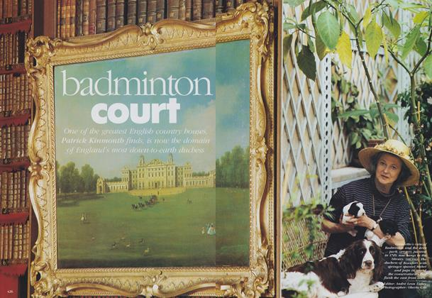 Article Preview: Badminton Court, October 1989 | Vogue