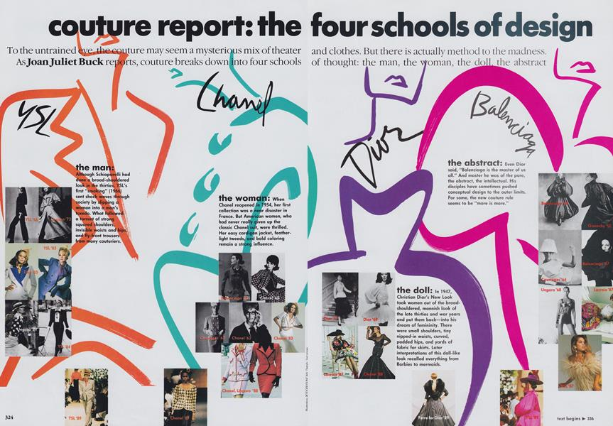 Couture Report: The Four Schools of Design