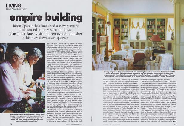 Article Preview: Empire Building, November 1989 | Vogue