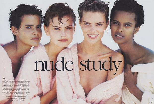Article Preview: Nude Study, November 1989 | Vogue