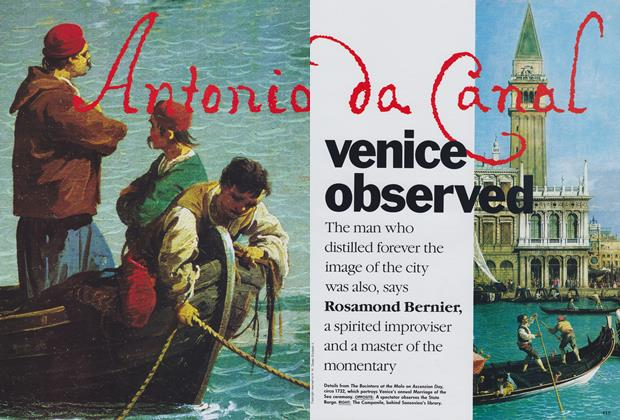 Article Preview: Venice Observed, November 1989 | Vogue
