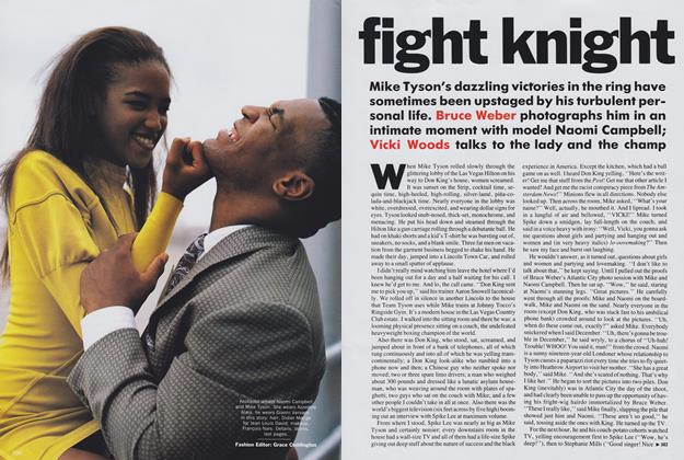 Article Preview: Fight Knight, December 1989 | Vogue