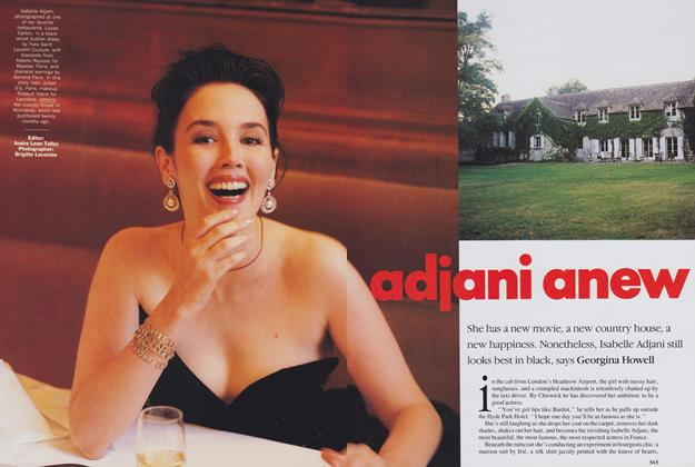 Article Preview: Adjani Anew, December 1989 | Vogue