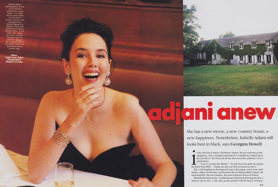 Adjani Anew
