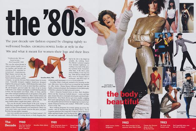 Article Preview: The '80s, January 1990 | Vogue