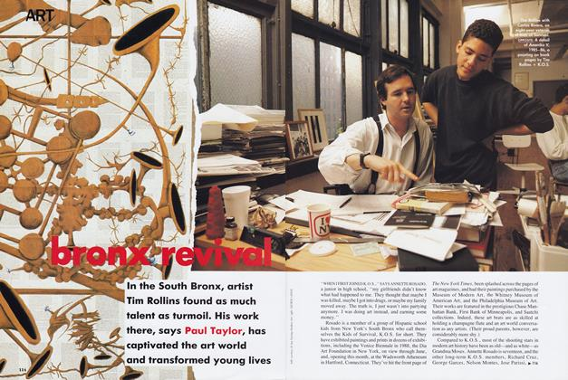 Article Preview: Bronx Revival/Modernism, January 1990 | Vogue