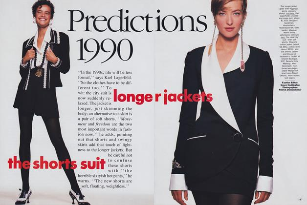 Predictions 1990