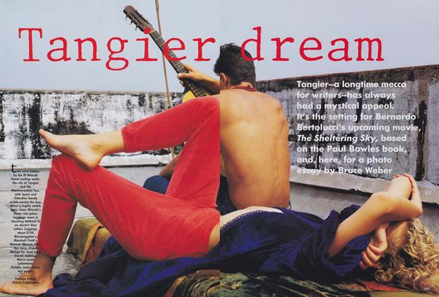 Article Preview: Tangier Dream, January 1990 | Vogue