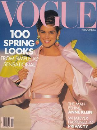 Cover for the February 1990 issue