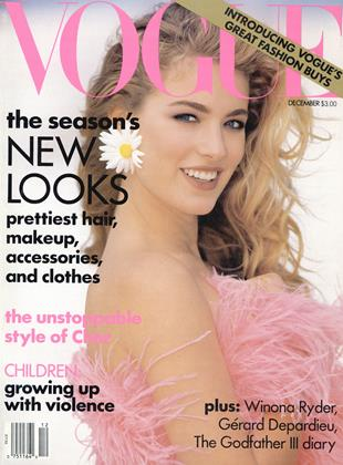 Cover for the December 1990 issue