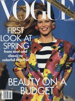 Cover for the February 1991 issue