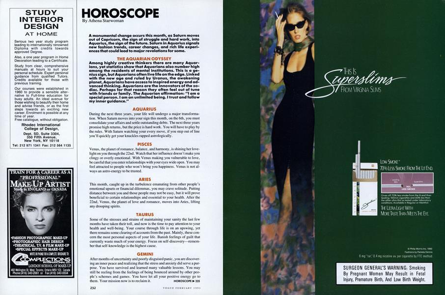 Vogue February 1991