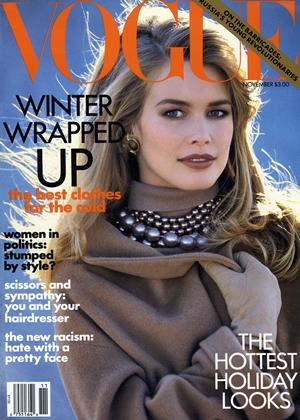 Cover for the November 1991 issue