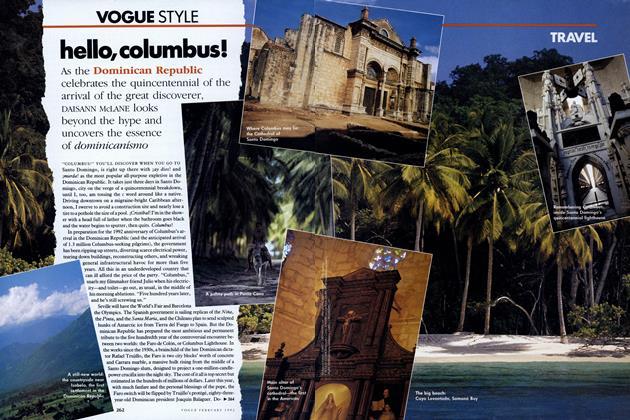 Travel: Hello, Columbus! Dominican Republic