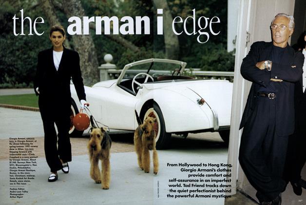 The Armani Edge