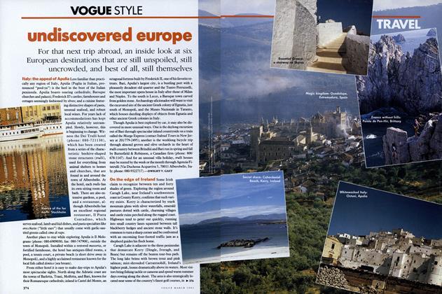 Travel: Undiscovered Europe