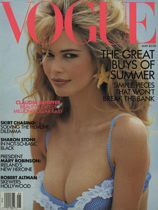 Cover for the May 1992 issue