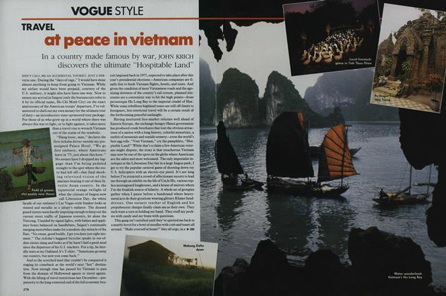 Travel: At Peace in Vietnam
