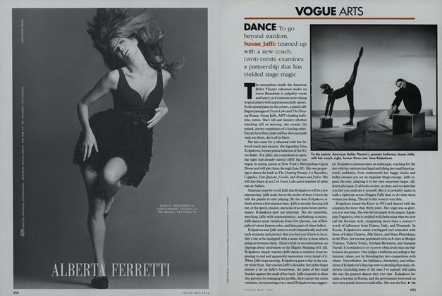 Dance: Susan Jaffe
