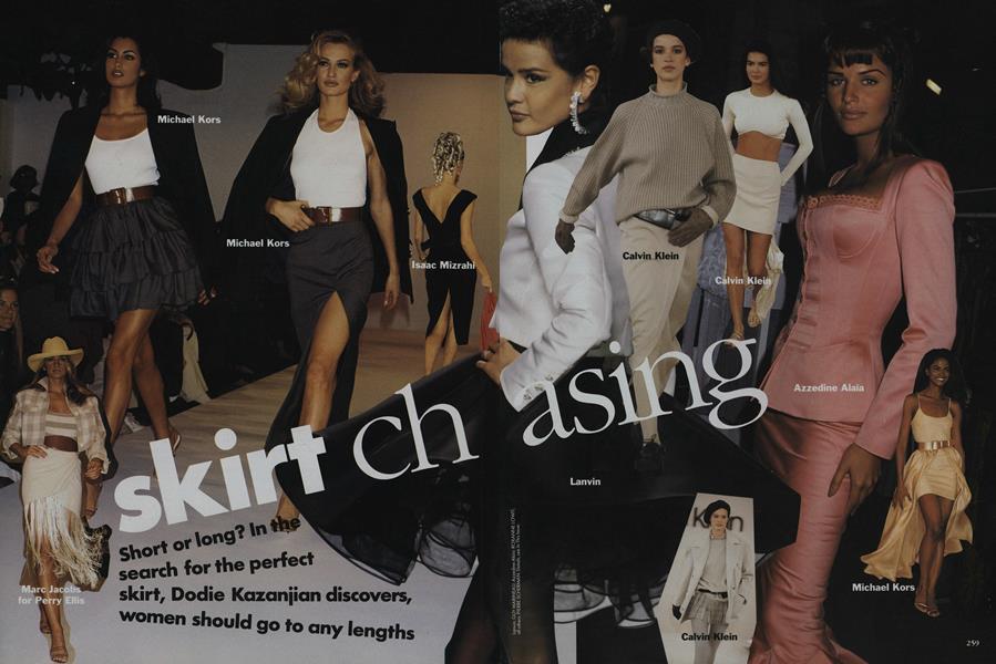 Skirt Chasing