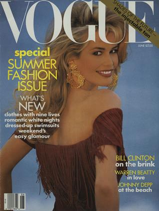 Cover for the June 1992 issue