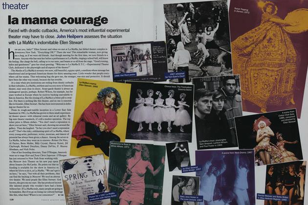 Theater: La Mama Courage