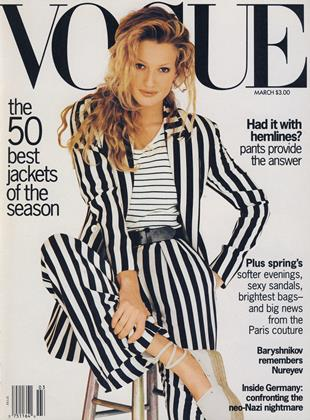 Cover for the March 1993 issue