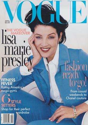 Cover for the April 1996 issue