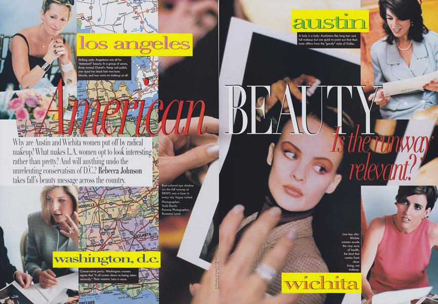 American Beauty: Is the Runway Relevant?