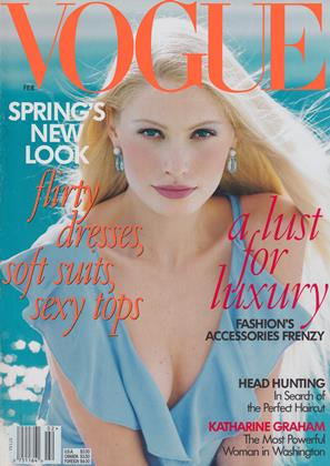 Cover for the February 1997 issue