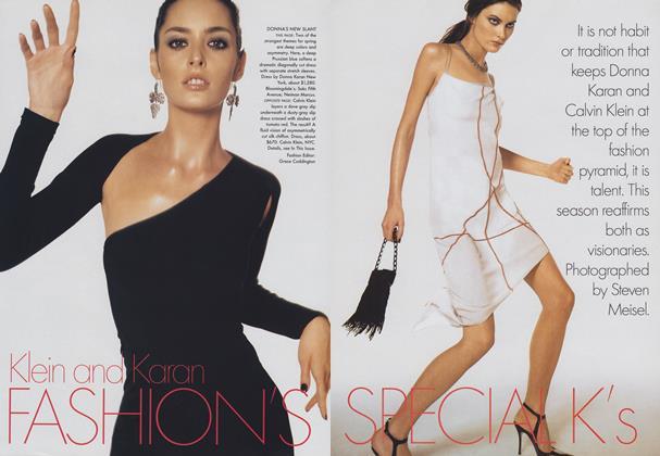 Klein and Karan: Fashion's Special K's