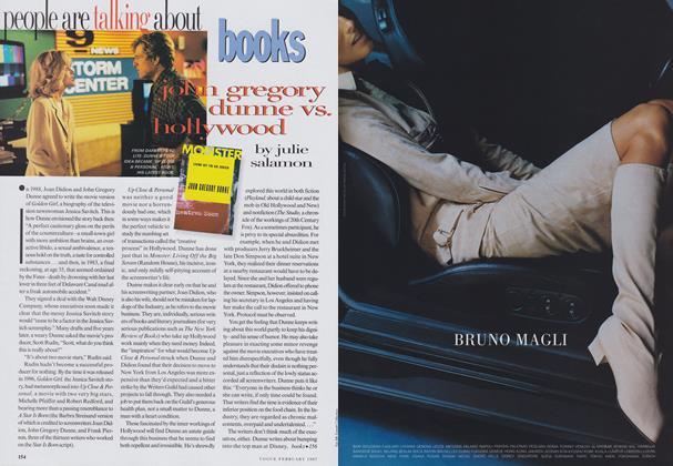 Books: John Gregory Dunne Vs. Hollywood