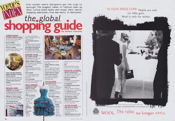 The Global Shopping Guide