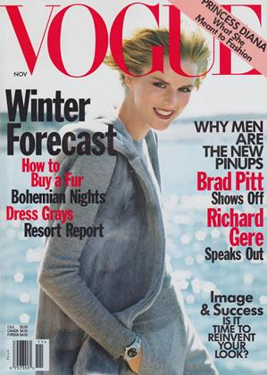 Cover for the November 1997 issue