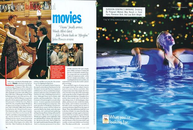 """Movies: """"Titanic"""" Finally Arrives/Woody Allen's Latest"""