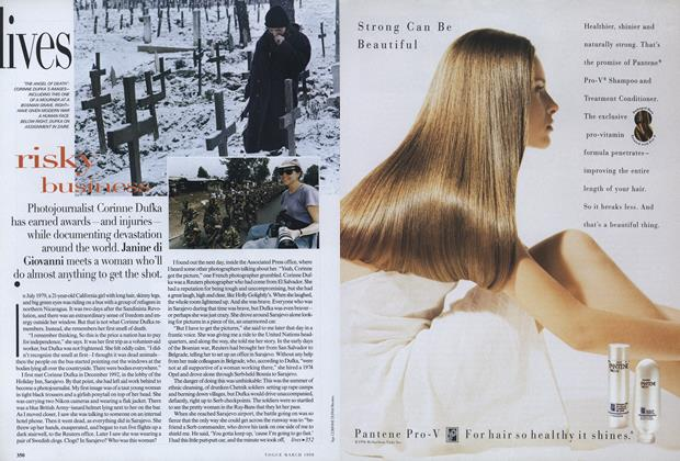 Article Preview: Risky Business, March 1998 | Vogue