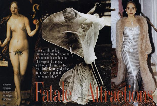 Article Preview: Fatale Attractions, March 1998 | Vogue